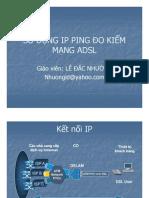 Lê Đắc Nhường - Xemina Truyền số liệu - IP Ping