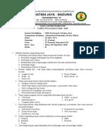 Soal Kantor Depan XI AP B - 20