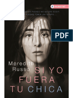 Meredith Russo - Si Yo Fuera Tu Chica