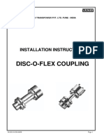 DISC-O-FLEX COUPLING Installations& Instructions