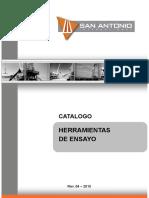 SAI - En REVISIÓN - Catalogo Herramientas de Ensayos - Rev 04 - 2015