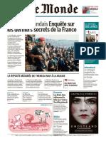 Journal Le Monde Et 2 Supplements Du 16 Mars 2018