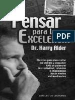 Alder. H. - Pensar Para La Exelencia