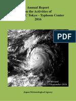 2016 Typhoon Report JMA