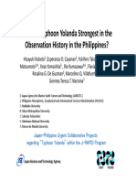 Typhoon Haiyan Analysis