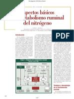 Metabolismo Ruminal Del Nitrógeno