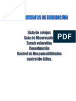 Instrumentos de Evaluación en Formato Word
