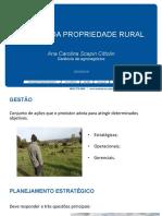 Gestao Da Propriedade Rural