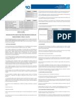 Edital Nº 04-2018 - Processo Seletivo Para Programa de Estágio - Semtel
