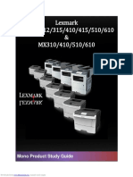 Lexmark ms310 User Guide
