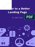 1hr to a Better Landing Page by J Syke