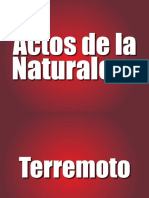 Actos Naturaleza Biblia