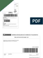 Label Correio s