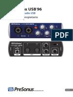 AudioBoxUSB96 Manual Del Propietario ES 26062018