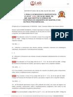 Lei Complementar 1010 2018 Santos SP
