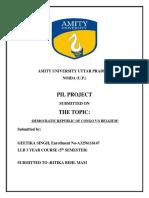 Pil Project 5th Sem Llb