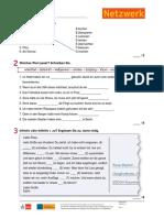 Netzwerk b1 Kapiteltest k1