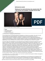 02 Síndrome de Inmunodeficiencia Social. Marina