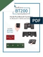 BT200 Family Manual