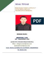 268851324 Soal Perubahan Sosial Budaya