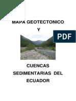 CUENCAS SEDIMENTARIAS DEL ECUADOR