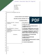 Razer Auto v. DNA Motor - Complaint