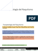 Fisiopatología del Raquitismo