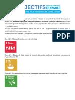 5-Objectifs de DD 2030