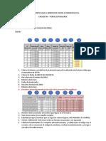 Procedimiento Para El Ingreso de Datos a Formato Excel
