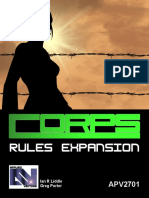 Corps 2e - Apv2701 Corps Rules Expansion
