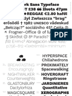Work Sans Print Specimen