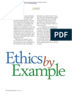 Ethics by Example