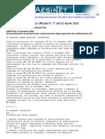 Direttiva Marzano 19 Dicembre 2002
