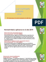 Contrato Docente 2019 Charla Informativa