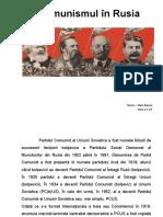 Comunismul În Rusia