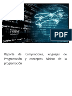 Reporte de Compiladores