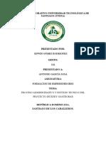 (Individual) Proceso Administrativo y Estudio Tecnico Del Proyecto Edwin Gomez 1-13-1562