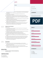 Examples Two Visualcv Resume