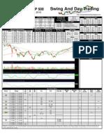 SPY Trading Sheet for Thursday, October 21, 2010