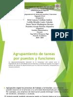 Agrupamiento de Tareas Por Puestos y Funciones; GRUPO 8