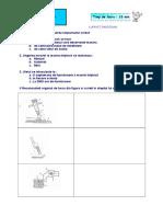 FISA de LUCRU - Masina Triplock 4 - Reglarea 2