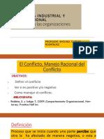 Sesion 10- Conflictos en Las Organizaciones