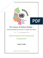 UNEP Study Guide