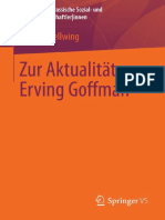 (Aktuelle Und Klassische Sozial- Und Kulturwissenschaftler_innen) Michael Dellwing (Auth.)-Zur Aktualität Von Erving Goffman-Vs Verlag Für Sozialwissenschaften (2014)
