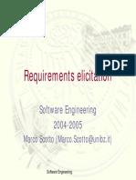 SE - Requirements elicitation.pdf