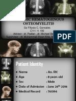 Osteomyelitis Kronik