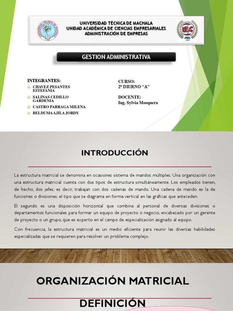 Exposicion De Gestion 1