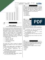 1ª P.D. - 2015 (Ciências 9º Ano) - BLOG Do Prof. Warles