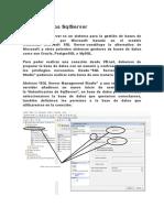 Base de Datos SqlServer