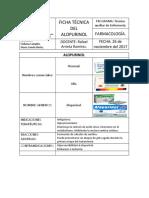FICHA TÉCNICA DEL ALOPURINOL.docx